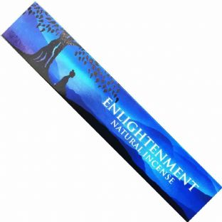 New Moon Aromas | Enlightenment Incense Sticks 15g (1 Box) Free UK Delivery